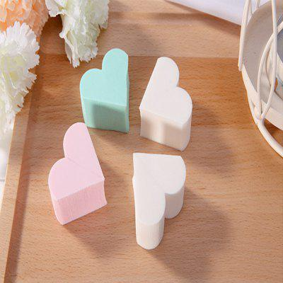 Lameila Cosmetic Sponge Heart Shape Powder Puff Makeup Tool 4PCSMakeup Brushes &amp; Tools<br>Lameila Cosmetic Sponge Heart Shape Powder Puff Makeup Tool 4PCS<br><br>Item Type: Cosmetic Puff<br>Materials: Sponge<br>Package Content: 4 x Cosmetic Puff<br>Package size (L x W x H): 16.80 x 12.00 x 1.50 cm / 6.61 x 4.72 x 0.59 inches<br>Package weight: 0.0600 kg<br>Product size (L x W x H): 3.00 x 3.00 x 1.50 cm / 1.18 x 1.18 x 0.59 inches<br>Product weight: 0.0510 kg