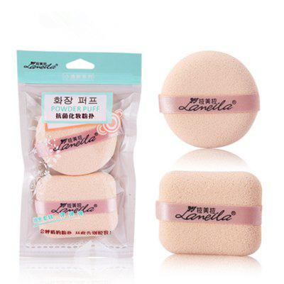 Lameila Cosmetic Sponge Powder Puff Makeup Tool 2PCS