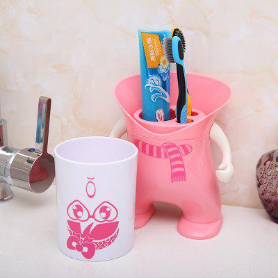 Wash Suit Creative Toothbrush Holder Dust-Resistant Mouth Cup Variety Shape