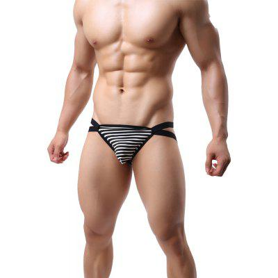 Biding Sex Appea Low-Waist Men's Underwear Thongs