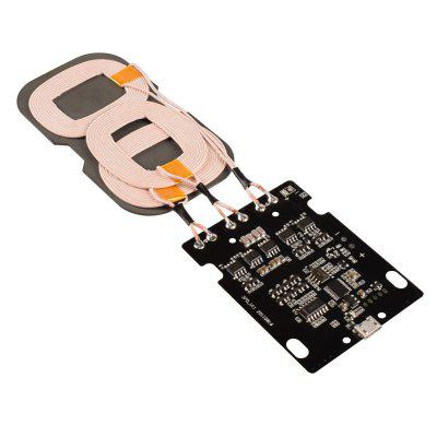 10W 3 Coils Fast Charging Qi Wireless Charger PCBA Module / Plug / Play  for Qi-devices