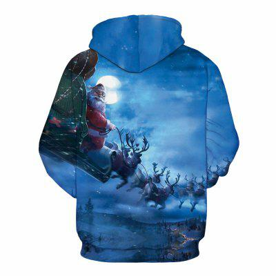 Santa Claus Digital Printing HoodieMens Hoodies &amp; Sweatshirts<br>Santa Claus Digital Printing Hoodie<br><br>Material: Cotton<br>Package Contents: 1 x Hoodie<br>Shirt Length: Regular<br>Sleeve Length: Full<br>Style: Fashion<br>Weight: 0.4800kg