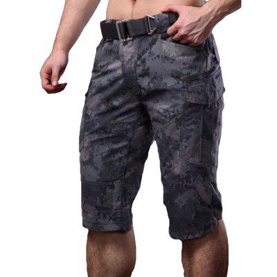Summer New Mountaineering Jungle Combat Shorts Camouflage Outdoor Casual Pants