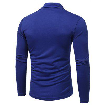 New Mens Solid Color High Collar Casual  Simple Slim Long-Sleeved T-ShirtMens T-shirts<br>New Mens Solid Color High Collar Casual  Simple Slim Long-Sleeved T-Shirt<br><br>Collar: Turtleneck<br>Material: Cotton Blends<br>Package Contents: 1x T-Shirt<br>Pattern Type: Solid<br>Sleeve Length: Full<br>Style: Fashion<br>Weight: 0.2600kg