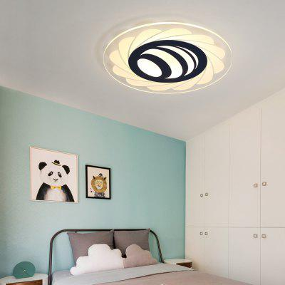 PJ383 Modern Simplified Suction Dome Light LED Lamps and Lanterns in Living Room and Bedroom