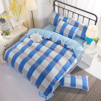 Washed Cotton Four-Piece Set Bedding