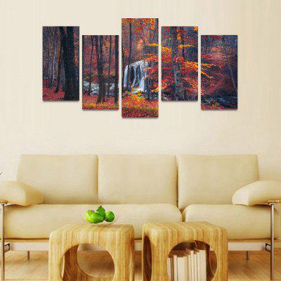 MailingArt FIV119  5 Panels Landscape Wall Art Painting Home Decor Canvas PrintPrints<br>MailingArt FIV119  5 Panels Landscape Wall Art Painting Home Decor Canvas Print<br><br>Craft: Print<br>Form: Five Panels<br>Material: Canvas<br>Package Contents: 5 x Print<br>Package size (L x W x H): 82.00 x 32.00 x 12.00 cm / 32.28 x 12.6 x 4.72 inches<br>Package weight: 1.8000 kg<br>Painting: Include Inner Frame<br>Shape: Horizontal Panoramic<br>Style: Natural<br>Subjects: Landscape<br>Suitable Space: Boys Room,Cafes,Corridor,Dining Room,Girls Room,Hotel,Kids Room,Kitchen,Living Room,Office,Study Room / Office