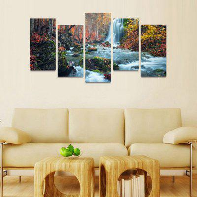 MailingArt FIV120  5 Panels Landscape Wall Art Painting Home Decor Canvas PrintPrints<br>MailingArt FIV120  5 Panels Landscape Wall Art Painting Home Decor Canvas Print<br><br>Craft: Print<br>Form: Five Panels<br>Material: Canvas<br>Package Contents: 5 x Print<br>Package size (L x W x H): 82.00 x 32.00 x 12.00 cm / 32.28 x 12.6 x 4.72 inches<br>Package weight: 1.8000 kg<br>Painting: Include Inner Frame<br>Shape: Horizontal Panoramic<br>Style: Natural<br>Subjects: Landscape<br>Suitable Space: Bedroom,Cafes,Dining Room,Hallway,Hotel,Kids Room,Kids Room,Kitchen,Living Room,Office,Study Room / Office