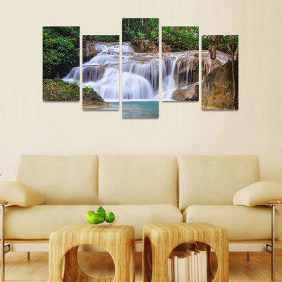 MailingArt FIV122  5 Panels Landscape Wall Art Painting Home Decor Canvas PrintPrints<br>MailingArt FIV122  5 Panels Landscape Wall Art Painting Home Decor Canvas Print<br><br>Craft: Print<br>Form: Five Panels<br>Material: Canvas<br>Package Contents: 5 x Print<br>Package size (L x W x H): 82.00 x 32.00 x 12.00 cm / 32.28 x 12.6 x 4.72 inches<br>Package weight: 1.8000 kg<br>Painting: Include Inner Frame<br>Shape: Horizontal Panoramic<br>Style: Natural<br>Subjects: Seascape<br>Suitable Space: Boys Room,Cafes,Corridor,Dining Room,Girls Room,Hotel,Kids Room,Kitchen,Living Room,Office,Study Room / Office
