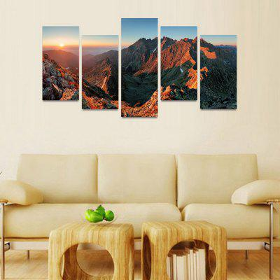 MailingArt FIV126  5 Panels Landscape Wall Art Painting Home Decor Canvas PrintPrints<br>MailingArt FIV126  5 Panels Landscape Wall Art Painting Home Decor Canvas Print<br><br>Craft: Print<br>Form: Five Panels<br>Material: Canvas<br>Package Contents: 5 x Print<br>Package size (L x W x H): 82.00 x 32.00 x 12.00 cm / 32.28 x 12.6 x 4.72 inches<br>Package weight: 1.8000 kg<br>Painting: Include Inner Frame<br>Shape: Horizontal Panoramic<br>Style: Natural<br>Subjects: Landscape<br>Suitable Space: Bedroom,Cafes,Dining Room,Hallway,Hotel,Kids Room,Kids Room,Kitchen,Living Room,Office,Study Room / Office