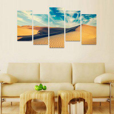 MailingArt FIV128  5 Panels Landscape Wall Art Painting Home Decor Canvas PrintPrints<br>MailingArt FIV128  5 Panels Landscape Wall Art Painting Home Decor Canvas Print<br><br>Craft: Print<br>Form: Five Panels<br>Material: Canvas<br>Package Contents: 5 x Print<br>Package size (L x W x H): 82.00 x 32.00 x 12.00 cm / 32.28 x 12.6 x 4.72 inches<br>Package weight: 1.8000 kg<br>Painting: Include Inner Frame<br>Shape: Horizontal Panoramic<br>Style: Natural<br>Subjects: Seascape<br>Suitable Space: Bedroom,Cafes,Dining Room,Hallway,Hotel,Kids Room,Kids Room,Kitchen,Living Room,Office,Study Room / Office