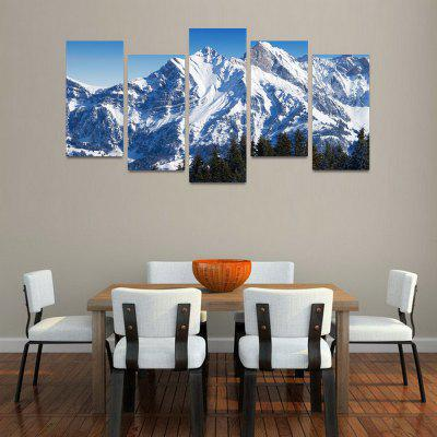 Buy MailingArt FIV137 5 Panels Landscape Wall Art Painting Home Decor Canvas Print, COLORMIX, Home & Garden, Home Decors, Wall Art, Prints for $57.16 in GearBest store