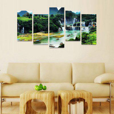 MailingArt FIV146  5 Panels Landscape Wall Art Painting Home Decor Canvas PrintPrints<br>MailingArt FIV146  5 Panels Landscape Wall Art Painting Home Decor Canvas Print<br><br>Craft: Print<br>Form: Five Panels<br>Material: Canvas<br>Package Contents: 5 x Print<br>Package size (L x W x H): 82.00 x 32.00 x 12.00 cm / 32.28 x 12.6 x 4.72 inches<br>Package weight: 1.8000 kg<br>Painting: Include Inner Frame<br>Shape: Horizontal Panoramic<br>Style: Natural<br>Subjects: Landscape<br>Suitable Space: Boys Room,Cafes,Corridor,Dining Room,Girls Room,Hotel,Kids Room,Kitchen,Living Room,Office,Study Room / Office