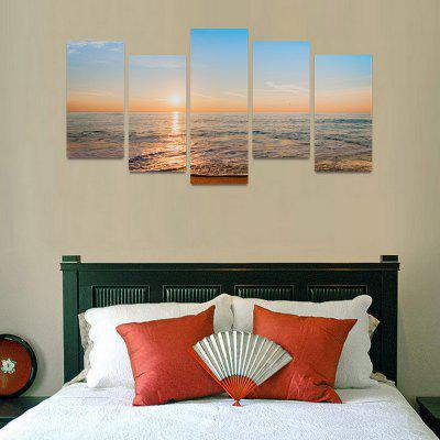 MailingArt FIV0076 5 Panels Seascape Wall Art Painting Home Decor Canvas PrintPrints<br>MailingArt FIV0076 5 Panels Seascape Wall Art Painting Home Decor Canvas Print<br><br>Craft: Print<br>Form: Five Panels<br>Material: Canvas<br>Package Contents: 5 x Print<br>Package size (L x W x H): 82.00 x 32.00 x 12.00 cm / 32.28 x 12.6 x 4.72 inches<br>Package weight: 1.8000 kg<br>Painting: Include Inner Frame<br>Shape: Horizontal Panoramic<br>Style: Natural<br>Subjects: Seascape<br>Suitable Space: Boys Room,Cafes,Corridor,Dining Room,Girls Room,Hotel,Kids Room,Kitchen,Living Room,Office,Study Room / Office