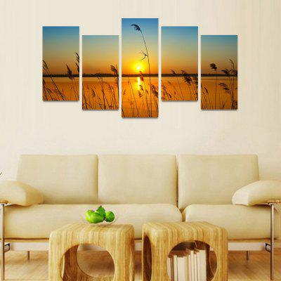 MailingArt FIV0152  5 Panels Landscape Wall Art Painting Home Decor Canvas PrintPrints<br>MailingArt FIV0152  5 Panels Landscape Wall Art Painting Home Decor Canvas Print<br><br>Craft: Print<br>Form: Five Panels<br>Material: Canvas<br>Package Contents: 5 x Print<br>Package size (L x W x H): 82.00 x 32.00 x 12.00 cm / 32.28 x 12.6 x 4.72 inches<br>Package weight: 1.8000 kg<br>Painting: Include Inner Frame<br>Shape: Horizontal Panoramic<br>Style: Natural<br>Subjects: Landscape<br>Suitable Space: Bedroom,Cafes,Corridor,Dining Room,Entry,Girls Room,Hotel,Kids Room,Living Room,Office,Pathway,Study Room / Office