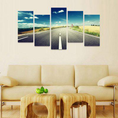 MailingArt FIV152  5 Panels Landscape Wall Art Painting Home Decor Canvas PrintPrints<br>MailingArt FIV152  5 Panels Landscape Wall Art Painting Home Decor Canvas Print<br><br>Craft: Print<br>Form: Five Panels<br>Material: Canvas<br>Package Contents: 5 x Print<br>Package size (L x W x H): 82.00 x 32.00 x 12.00 cm / 32.28 x 12.6 x 4.72 inches<br>Package weight: 1.8000 kg<br>Painting: Include Inner Frame<br>Shape: Horizontal Panoramic<br>Style: Natural<br>Subjects: Landscape<br>Suitable Space: Bedroom,Cafes,Corridor,Dining Room,Entry,Girls Room,Hotel,Kids Room,Living Room,Office,Pathway,Study Room / Office