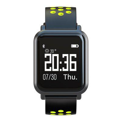 Atongm ATM2018 Bluetooth Smart Watches Waterproof Heart Rate Monitor Activity Fitness Tracker Wearable Yellow