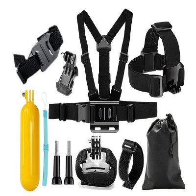 Action Camera Accessories Set Set copri testina per kit supporto per GoPro Hero 6 / 5S / 5/4/3 + / 3/2/1 / SJCAM / SJ4000