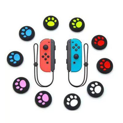 Silicone Cat Claw Cap Left and Right Rocker Cap for Switch NX NS