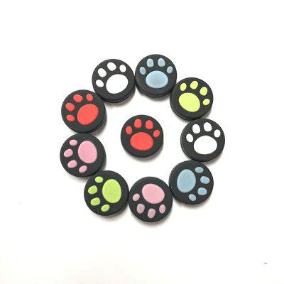 Silicone Cat Claw Cap Left and Right Rocker Cap for Switch NX NSGame Accessories<br>Silicone Cat Claw Cap Left and Right Rocker Cap for Switch NX NS<br><br>Game Accessories Type: Thumbstick Cover<br>Package Contents: 10 x Button Cap<br>Package size: 8.00 x 5.00 x 1.00 cm / 3.15 x 1.97 x 0.39 inches<br>Package weight: 0.0220 kg<br>Product size: 7.50 x 4.50 x 1.00 cm / 2.95 x 1.77 x 0.39 inches<br>Product weight: 0.0200 kg