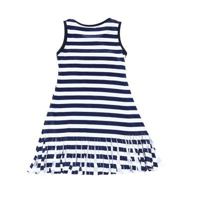 SOSOCOER Girls Dresses Summer Fashion Striped Love Sleeveless Tassel SkirtGirls dresses<br>SOSOCOER Girls Dresses Summer Fashion Striped Love Sleeveless Tassel Skirt<br><br>Brand: SOSOCOER<br>Dresses Length: Knee-Length<br>Embellishment: Tassel<br>Material: Cotton<br>Neckline: Round Collar<br>Package Contents: 1 x Dress<br>Pattern Type: Heart<br>Season: Summer<br>Silhouette: A-Line<br>Sleeve Length: Sleeveless<br>Sleeve Type: Tank<br>Style: British<br>Weight: 0.1300kg<br>With Belt: No