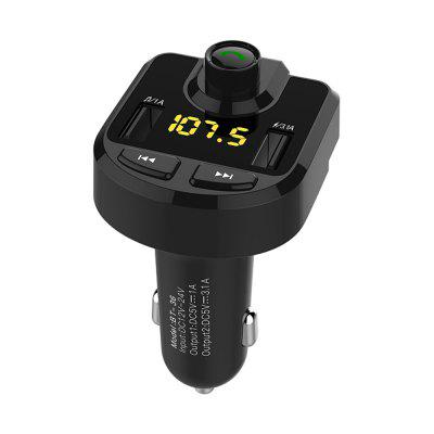 Bluetooth Handsfree Car Kit With FM Transmitter and 3.1A Car Charger BT-36