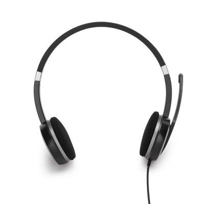 Computer Head-Mounted Gaming Headset with Microphone Voice