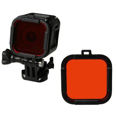 Diving Lens Filter Kit Enhances Vivid Colors and Improved Contrast Night Vision for GoPro 4 Session/ Gopro 5 Session