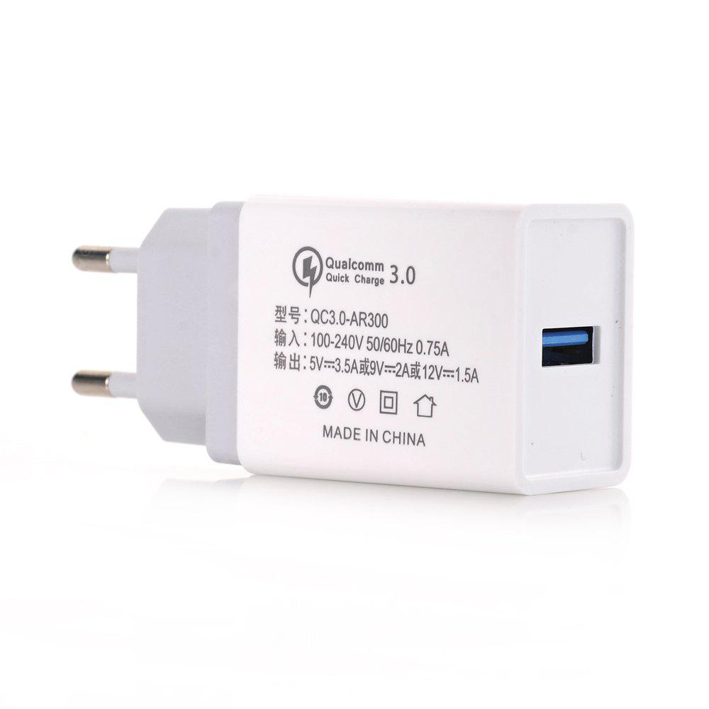 Quick Charge  USB Wall Charger EU Plug Qualcomm QC3.0 Travel Charger