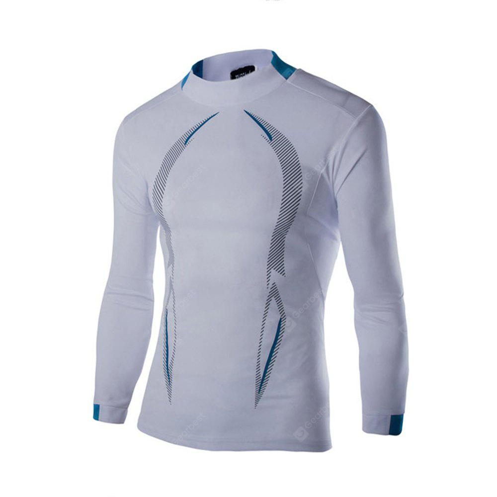 2018 Autumn and Winter New Men Casual Long-Sleeved Sports T Shirt