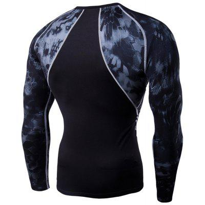 Mens Digital Printing Long-Sleeved Fitness Python Speed Dry T-ShirtSport Clothing<br>Mens Digital Printing Long-Sleeved Fitness Python Speed Dry T-Shirt<br><br>Elasticity: Elastic<br>Material: Microfiber, Acetate<br>Package Contents: 1?Top<br>Pattern Type: Others<br>Weight: 0.2500kg