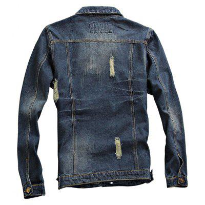 Spring and Autumn Mens Denim Leisure JacketsMens Jackets &amp; Coats<br>Spring and Autumn Mens Denim Leisure Jackets<br><br>Clothes Type: Jackets<br>Collar: Turn-down Collar<br>Material: Cotton, Polyester<br>Package Contents: 1xCoat<br>Season: Spring, Fall<br>Shirt Length: Regular<br>Sleeve Length: Long Sleeves<br>Style: Casual<br>Weight: 0.8000kg