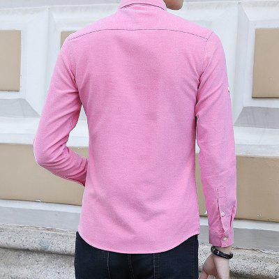 Spring and Autumn Mens Pure Color Fashion ShirtMens Shirts<br>Spring and Autumn Mens Pure Color Fashion Shirt<br><br>Collar: Turn-down Collar<br>Material: Cotton, Polyester<br>Package Contents: 1xShirt<br>Shirts Type: Casual Shirts<br>Sleeve Length: Full<br>Weight: 0.4500kg