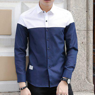Spring and Autumn Mens Pure and Fashionable Casual ShirtMens Shirts<br>Spring and Autumn Mens Pure and Fashionable Casual Shirt<br><br>Collar: Turn-down Collar<br>Material: Cotton, Polyester<br>Package Contents: 1xShirt<br>Shirts Type: Casual Shirts<br>Sleeve Length: Full<br>Weight: 0.4500kg