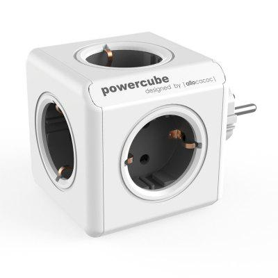 Allocacoc Powercube 1100GN-DEORPC 250V EU Power Socket with 5 outlets