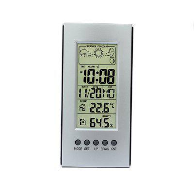 Digital Color Forecast Weather Station with Alert and Temperature