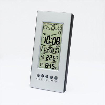 Digital Color Forecast Weather Station with Alert and TemperatureOther Consumer Electronics<br>Digital Color Forecast Weather Station with Alert and Temperature<br><br>Package Contents: 1 x The weather forecast tool<br>Package size (L x W x H): 14.00 x 8.00 x 5.00 cm / 5.51 x 3.15 x 1.97 inches<br>Package weight: 0.0700 kg<br>Product size (L x W x H): 12.00 x 6.40 x 3.60 cm / 4.72 x 2.52 x 1.42 inches