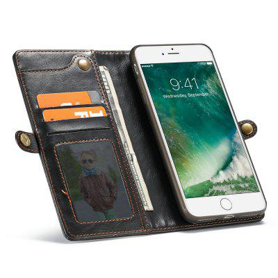 CaseMe for iPhone 8 Plus/ 7 Plus Wallet Case with Detachable Slim TPU PC Leather Cover Hand Strap for Easily TakingiPhone Cases/Covers<br>CaseMe for iPhone 8 Plus/ 7 Plus Wallet Case with Detachable Slim TPU PC Leather Cover Hand Strap for Easily Taking<br><br>Brand: CaseMe<br>Color: Black,Red,Coffee<br>Compatible for Apple: iPhone 7 Plus, iPhone 8 Plus<br>Features: Wallet Case, Shatter-Resistant Case, FullBody Cases, Anti-knock, Button Protector, With Lanyard, With Credit Card Holder, Bumper Frame, Back Cover<br>Material: PC, TPU, PU Leather, Metal<br>Package Contents: 1 x Phone Case<br>Package size (L x W x H): 16.50 x 9.10 x 2.60 cm / 6.5 x 3.58 x 1.02 inches<br>Package weight: 0.1740 kg<br>Product size (L x W x H): 16.40 x 9.00 x 2.50 cm / 6.46 x 3.54 x 0.98 inches<br>Product weight: 0.1640 kg<br>Style: Leather, Retro