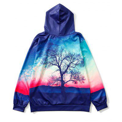 ZOEL Mens 3D Printing A Tree Long Sleeves HoodieMens Hoodies &amp; Sweatshirts<br>ZOEL Mens 3D Printing A Tree Long Sleeves Hoodie<br><br>Fabric Type: Broadcloth<br>Material: Polyester<br>Package Contents: 1 x Hoodie<br>Shirt Length: Regular<br>Sleeve Length: Full<br>Style: Fashion<br>Weight: 0.5200kg