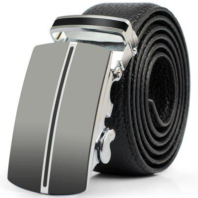 Men's Business Casual Leather Belt
