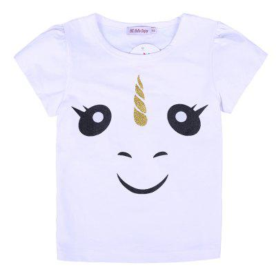 Girls Clothes 2pcs Golden Cartoon T-shirt + Skirt Kids Clothing SetGirls clothing sets<br>Girls Clothes 2pcs Golden Cartoon T-shirt + Skirt Kids Clothing Set<br><br>Collar: Turtleneck<br>Elasticity: Elastic<br>Fabric Type: Worsted<br>Material: Cotton<br>Package Contents: 1 x T-shirt , 1 x Skirt<br>Pattern Type: Character<br>Shirt Length: Regular<br>Sleeve Length: Short<br>Style: Fashion<br>Weight: 0.1800kg