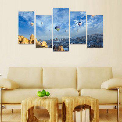 MailingArt FIV164  5 Panels Landscape Wall Art Painting Home Decor Canvas PrintPrints<br>MailingArt FIV164  5 Panels Landscape Wall Art Painting Home Decor Canvas Print<br><br>Craft: Print<br>Form: Five Panels<br>Material: Canvas<br>Package Contents: 5 x Print<br>Package size (L x W x H): 82.00 x 32.00 x 12.00 cm / 32.28 x 12.6 x 4.72 inches<br>Package weight: 1.8000 kg<br>Painting: Include Inner Frame<br>Shape: Horizontal Panoramic<br>Style: Natural<br>Subjects: Landscape<br>Suitable Space: Bedroom,Cafes,Dining Room,Hallway,Hotel,Kids Room,Kids Room,Kitchen,Living Room,Office,Study Room / Office