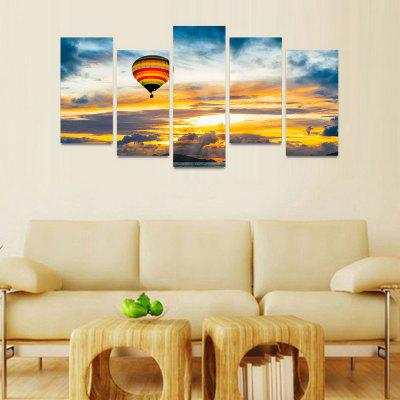 MailingArt FIV165  5 Panels Landscape Wall Art Painting Home Decor Canvas PrintPrints<br>MailingArt FIV165  5 Panels Landscape Wall Art Painting Home Decor Canvas Print<br><br>Craft: Print<br>Form: Five Panels<br>Material: Canvas<br>Package Contents: 5 x Print<br>Package size (L x W x H): 82.00 x 32.00 x 12.00 cm / 32.28 x 12.6 x 4.72 inches<br>Package weight: 1.8000 kg<br>Painting: Include Inner Frame<br>Shape: Horizontal Panoramic<br>Style: Natural<br>Subjects: Landscape<br>Suitable Space: Bedroom,Cafes,Dining Room,Hallway,Hotel,Kids Room,Kids Room,Kitchen,Living Room,Office,Study Room / Office