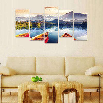 MailingArt FIV167  5 Panels Landscape Wall Art Painting Home Decor Canvas PrintPrints<br>MailingArt FIV167  5 Panels Landscape Wall Art Painting Home Decor Canvas Print<br><br>Craft: Print<br>Form: Five Panels<br>Material: Canvas<br>Package Contents: 5 x Print<br>Package size (L x W x H): 82.00 x 32.00 x 12.00 cm / 32.28 x 12.6 x 4.72 inches<br>Package weight: 1.8000 kg<br>Painting: Include Inner Frame<br>Shape: Horizontal Panoramic<br>Style: Natural<br>Subjects: Landscape<br>Suitable Space: Bedroom,Cafes,Dining Room,Hallway,Hotel,Kids Room,Kids Room,Kitchen,Living Room,Office,Study Room / Office