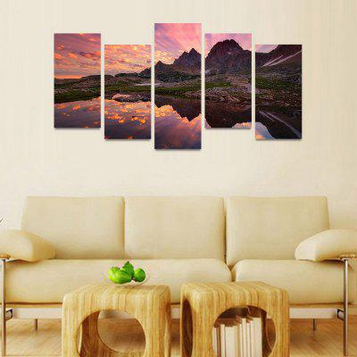 MailingArt FIV172  5 Panels Landscape Wall Art Painting Home Decor Canvas PrintPrints<br>MailingArt FIV172  5 Panels Landscape Wall Art Painting Home Decor Canvas Print<br><br>Craft: Print<br>Form: Five Panels<br>Material: Canvas<br>Package Contents: 5 x Print<br>Package size (L x W x H): 82.00 x 32.00 x 12.00 cm / 32.28 x 12.6 x 4.72 inches<br>Package weight: 1.8000 kg<br>Painting: Include Inner Frame<br>Shape: Horizontal Panoramic<br>Style: Natural<br>Subjects: Landscape<br>Suitable Space: Bedroom,Cafes,Dining Room,Hallway,Hotel,Kids Room,Kids Room,Kitchen,Living Room,Office,Study Room / Office