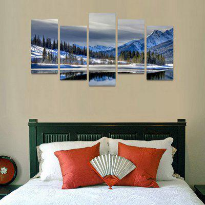 MailingArt FIV174  5 Panels Landscape Wall Art Painting Home Decor Canvas PrintPrints<br>MailingArt FIV174  5 Panels Landscape Wall Art Painting Home Decor Canvas Print<br><br>Craft: Print<br>Form: Five Panels<br>Material: Canvas<br>Package Contents: 5 x Print<br>Package size (L x W x H): 82.00 x 32.00 x 12.00 cm / 32.28 x 12.6 x 4.72 inches<br>Package weight: 1.8000 kg<br>Painting: Include Inner Frame<br>Shape: Horizontal Panoramic<br>Style: Natural<br>Subjects: Landscape<br>Suitable Space: Bedroom,Cafes,Dining Room,Hallway,Hotel,Kids Room,Kids Room,Kitchen,Living Room,Office,Study Room / Office