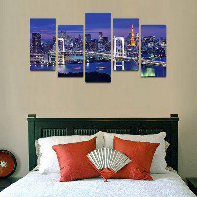 MailingArt F013 5 Panels Landscape Wall Art Painting Home Decor Canvas PrintPrints<br>MailingArt F013 5 Panels Landscape Wall Art Painting Home Decor Canvas Print<br><br>Craft: Print<br>Form: Five Panels<br>Material: Canvas<br>Package Contents: 5 x Print<br>Package size (L x W x H): 82.00 x 32.00 x 12.00 cm / 32.28 x 12.6 x 4.72 inches<br>Package weight: 1.8000 kg<br>Painting: Include Inner Frame<br>Shape: Horizontal Panoramic<br>Style: Natural<br>Subjects: Famous<br>Suitable Space: Boys Room,Cafes,Corridor,Dining Room,Girls Room,Hotel,Kids Room,Kitchen,Living Room,Office,Study Room / Office