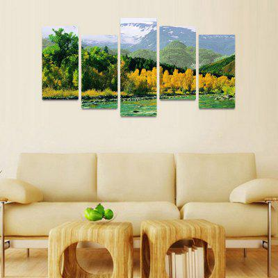MailingArt FIV177  5 Panels Landscape Wall Art Painting Home Decor Canvas PrintPrints<br>MailingArt FIV177  5 Panels Landscape Wall Art Painting Home Decor Canvas Print<br><br>Craft: Print<br>Form: Five Panels<br>Material: Canvas<br>Package Contents: 5 x Print<br>Package size (L x W x H): 82.00 x 32.00 x 12.00 cm / 32.28 x 12.6 x 4.72 inches<br>Package weight: 1.8000 kg<br>Painting: Include Inner Frame<br>Shape: Horizontal Panoramic<br>Style: Natural<br>Subjects: Seascape<br>Suitable Space: Boys Room,Cafes,Corridor,Dining Room,Girls Room,Hotel,Kids Room,Kitchen,Living Room,Office,Study Room / Office