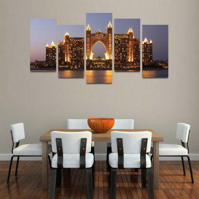 Buy MailingArt F014 5 Panels Landscape Wall Art Painting Home Decor Canvas Print, COLORMIX, Home & Garden, Home Decors, Wall Art, Prints for $57.16 in GearBest store