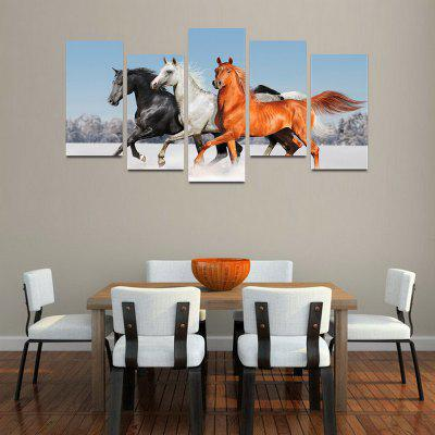 MailingArt F015 5 Panels Landscape Wall Art Painting Home Decor Canvas Print